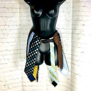 Made To Order•Unique Handmade Tie Belt/Skirt 🤷♀️